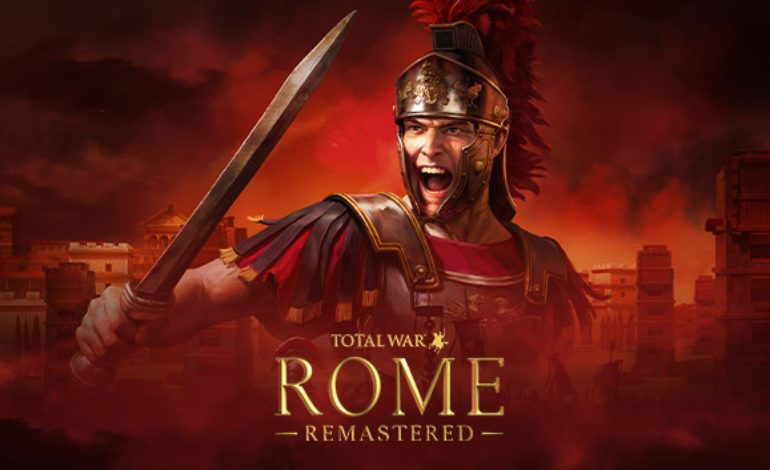 Rome: Total War Receiving a Remaster