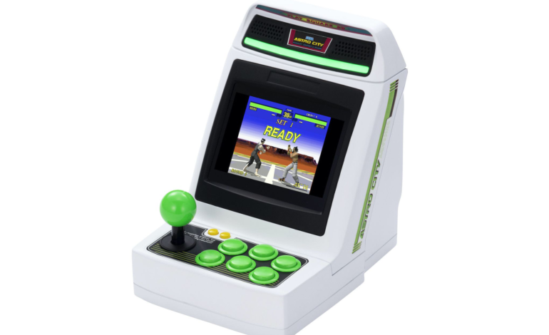 Limited Run Games to Sell Sega's Astro City Mini to the US