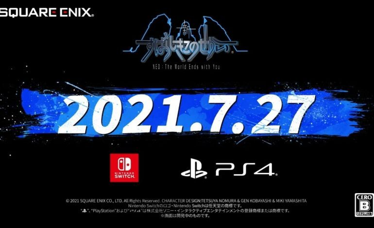 NEO: The World Ends With You Officially Launches This July, PC Version Coming to Epic Games Store This Summer