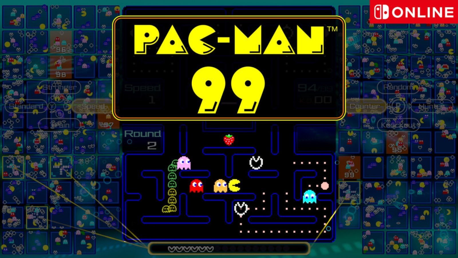 Pac-Man 99 Announced, Available Now For Nintendo Switch