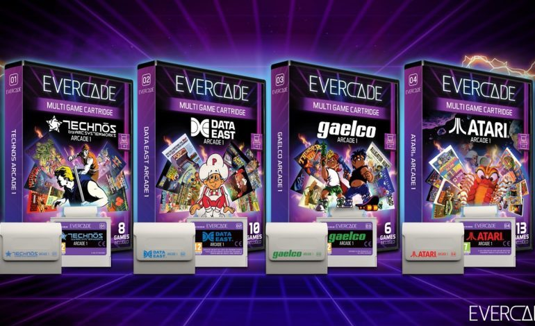 Evercade Gets New Arcade Collections for Systems, Includes Double Dragon 2 and Crystal Castles
