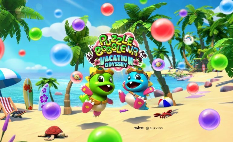 Puzzle Bobble VR: Vacation Odyssey Now Available On Oculus Quest