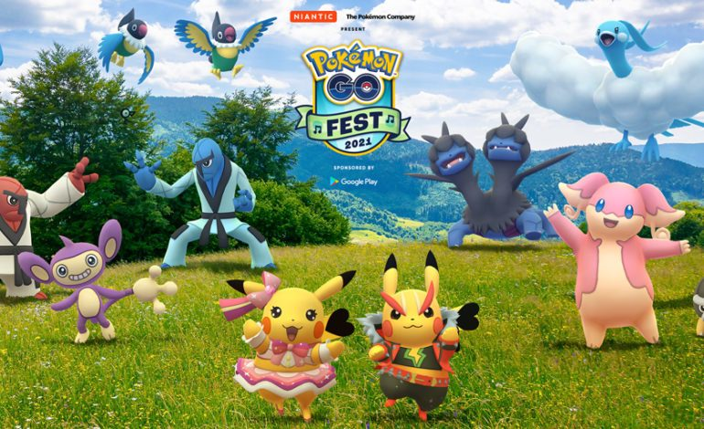 Pokemon GO Fest Coming This July 17-18