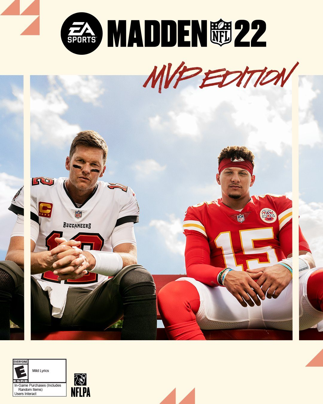 Madden NFL 22 Officially Revealed Featuring Patrick Mahomes and Tom Brady As Cover Athletes