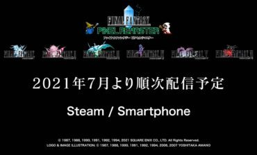 Final Fantasy Pixel Remaster First Titles Will Start to Release Next Month