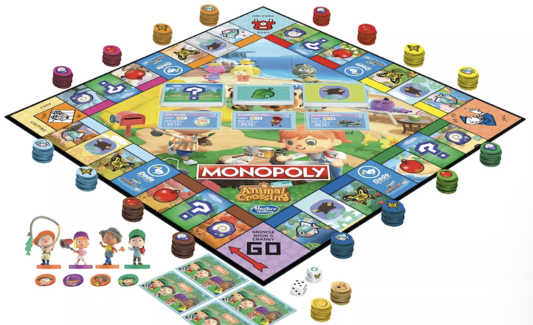 Animal Crossing: New Horizons Monopoly Game Arriving in August