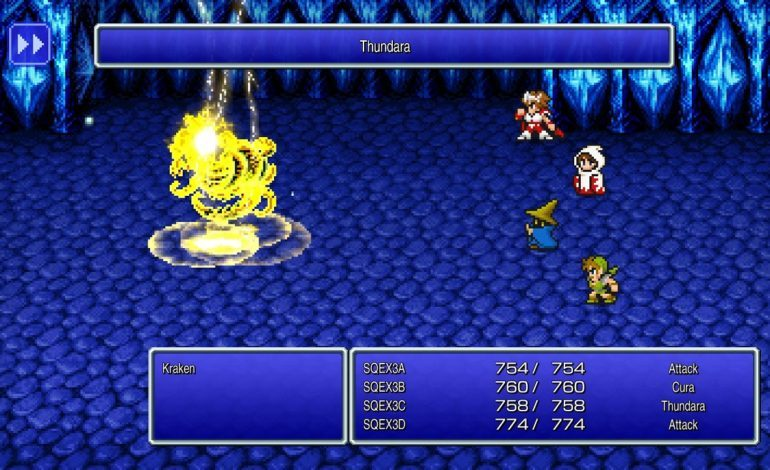 Final Fantasy Pixel Remaster's First Three Games Launch Later This Month