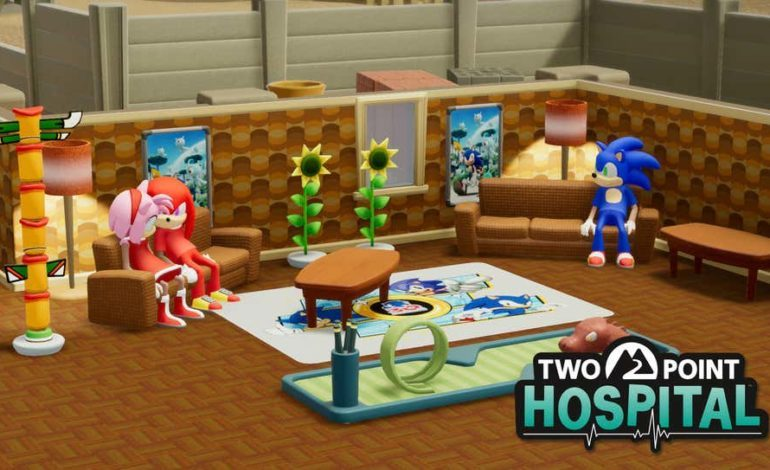 Sonic Is In Two Point Hospital Because Why Not
