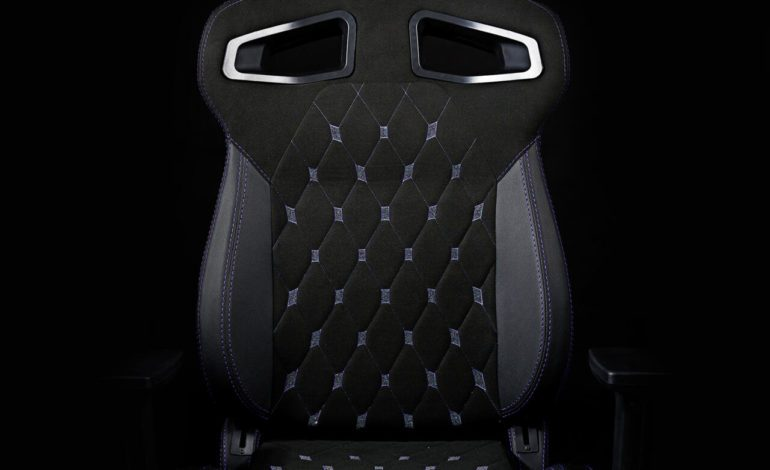 Gaming Chair Company Partners with Swarovski for Special Edition Chair