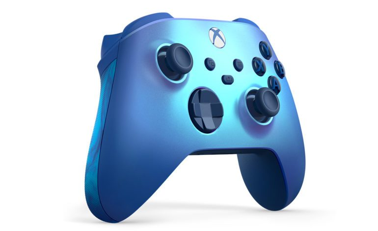Microsoft's New Aqua Blue Special Edition Controller Releasing In August