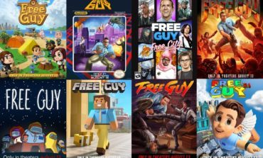 Free Guy's New Video Game-Themed Posters