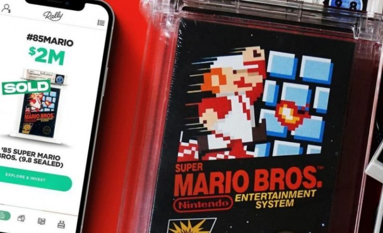 A Vintage Super Mario Bros. Game Sells For $2 Million