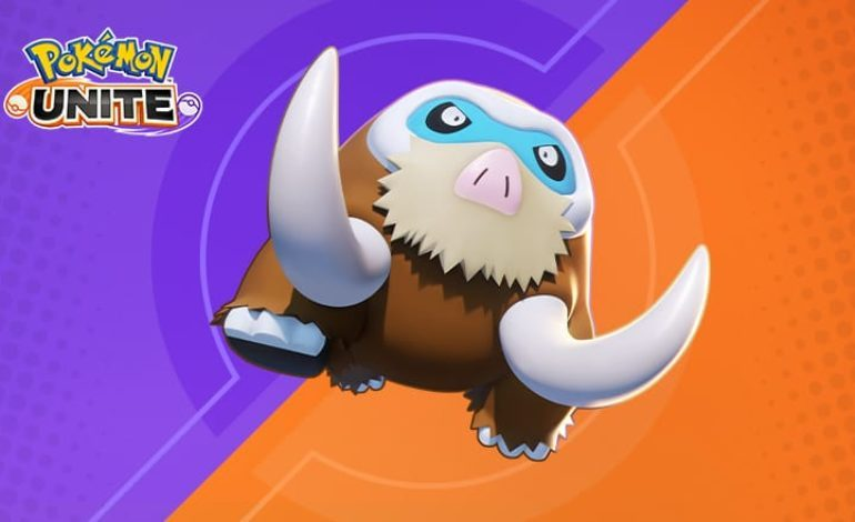 Mamoswine, The Melee Defender Gets Added To The Roster In Pokémon Unite