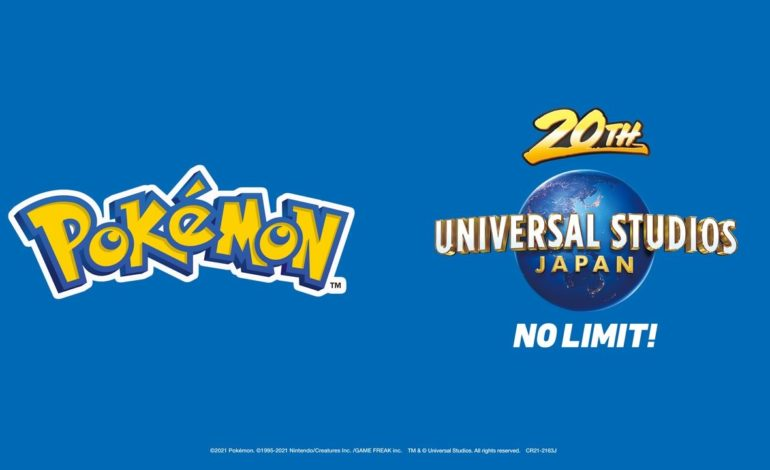 The Pokémon Company and Universal Studios Japan Announce a Partnership, Commences in 2022
