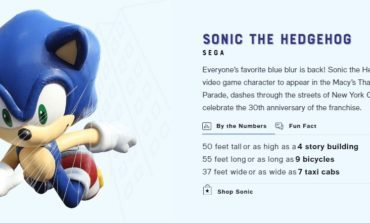 Sonic Is Back At The Macy's Thanksgiving Day Parade