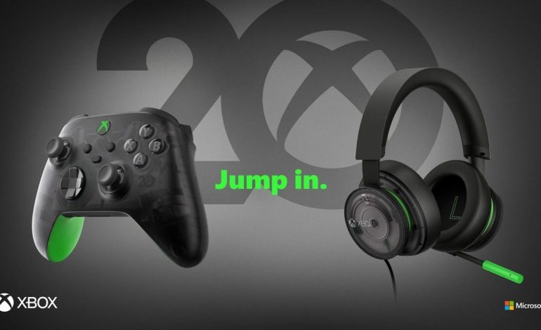 Xbox 20th Anniversary Controller and Headset Revealed, Comes Out Next Month